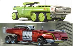 Picture auto, design, style, future, futuristic