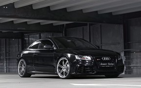 Picture Audi, Machine, Bumper, Lights, RS5, Drives, Icon, Senner Tuning