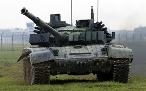 Picture battle tank, T-72M4 CZ, Czech modification