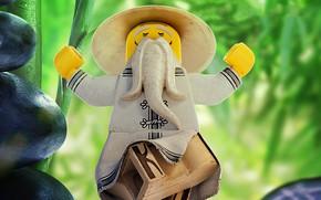 Picture Lego, animated film, sensei, animated movie, The Lego Ninjago, Sensei Wu