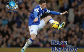 Picture wallpaper, sport, football, player, Everton FC, Ross Barkley