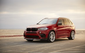 Picture BMW, Bavaria, RED, X5M, F85