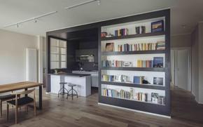 Picture interior, kitchen, dining room, Casa Danda