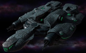Picture Modeling reel 2015, Polaris Sector game, Eriances