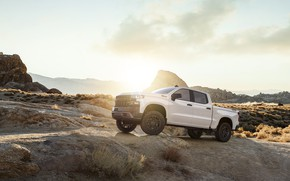 Wallpaper 2019, Z71, Silverado, Chevroet, White, Truck, Pick Up