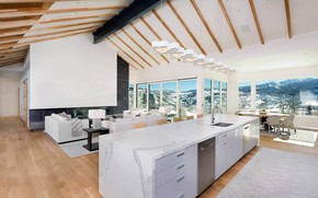 Picture Villa, resort, living room, living space, Contemporary Residence