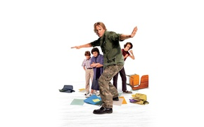 Wallpaper Drillbit Taylor, botany, Survival school, Owen Wilson, Owen Wilson, white background, students, Comedy
