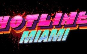 Picture The game, Neon, Background, Miami, Hotline Miami, Synthpop, Darkwave, Retrowave, Synthwave, Hotline