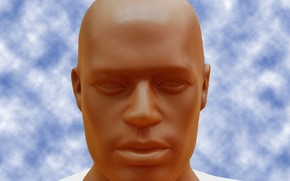 Picture face, male, dummy