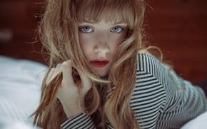 Picture sponge, redhead, curls, kassio. epia, running deep