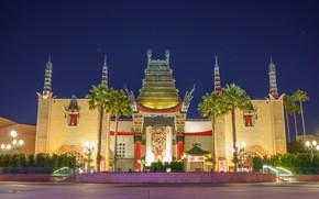 Wallpaper Night, Disneyland, Park, Lights, Entertainments