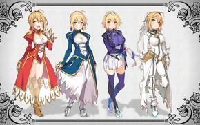 Picture kawaii, girl, game, Fate Stay Night, Fate/Stay Night, armor, anime, pretty, manga, japanese, seifuku, light …
