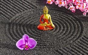 Picture energy, stone, Japan, garden, Japan, stone, Zen, energy, garden, philosophy, Zen, sand monk, sand monk, …