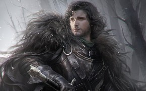 Picture sword, Wolf, fantasy, fragment, Game of Thrones, Game of thrones, Night watch, Jon Snow, Stark, …