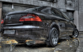 Picture reflection, HDR, Auto, Skoda, Superb