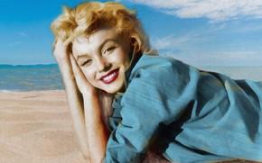 Picture Marilyn Monroe, actress, sex symbol, MARILYN MONROE