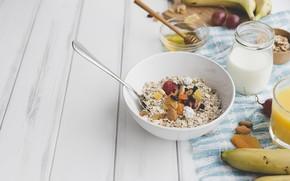 Wallpaper fruit, Breakfast, Flake