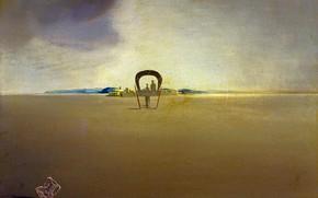 Wallpaper surrealism, picture, Salvador Dali, Salvador Dali, Phantom Wagons