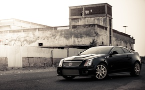 Picture coupe, cadillac, cts-v