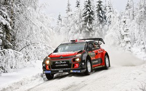 Picture Winter, Auto, Snow, Forest, Sport, Machine, Race, Citroen, Citroen, Car, WRC, Rally, Rally, Kris Meeke, …