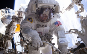 Picture USA, ISS, astronaut, NASA, Peggy Whitson