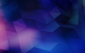 Picture purple, surface, blue, pink, triangles, watercolor, figure, blue, pink, purple, light pink, dark blue, broken, …