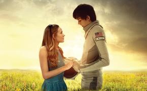 Picture cinema, girl, sky, woman, cloud, boy, movie, american flag, flag, film, pearls, vegetation, Britt Robertson, …