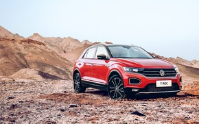 Picture Volkswagen, 2018, crossover, 4Motion, T-Roc