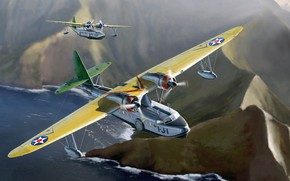 Picture the plane, Sikorsky, flying boat, Seaplane, S-43 (JRS-1)