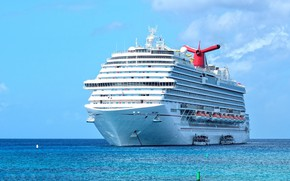 Picture the ocean, ship, liner