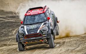 Picture Sand, Mini, Dust, Sport, Desert, Speed, Race, 302, Rally, Dakar, Dakar, Rally, X-Raid Team, MINI …