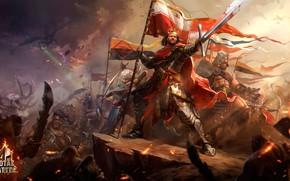 Wallpaper battle, Total Battle, art