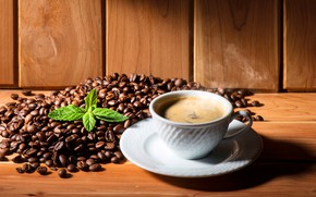 Picture leaves, coffee, hot, couples, Cup, white, drink, saucer, grain