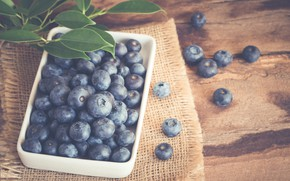 Picture berries, blueberries, bowl