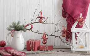 Picture decoration, balls, tree, New Year, Christmas, gifts, Christmas, vintage, design, Merry Christmas, Xmas, decoration, gifts, …