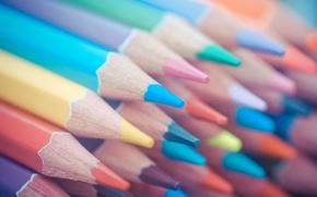 Picture background, color, pencil