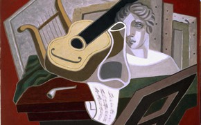 Picture 1926, Madrid, Musical table, The Reina Sofia Museum, Juan Gris