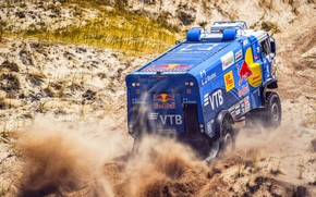 Picture Sport, Speed, Truck, Race, Master, Russia, Kamaz, Rally, Dakar, KAMAZ-master, Dakar, Rally, KAMAZ, 507, The …