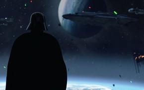Picture background, Star Wars, helmet, Darth Vader, Star Wars Battlefront II