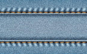 Picture seam, jeans, denim