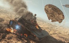 Picture game, Star Destroyer, Star Destroyer, Electronic Arts, DICE, Millennium Falcon, Millennium Falcon, Battle of Jakku, ...