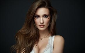 Wallpaper hair, model, girl, look