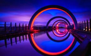 Picture Scotland, gateway, Falkirk wheel