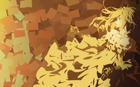 Picture kawaii, long hair, anime, pretty, blonde, manga, japonese, Violet Evergarden