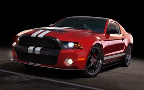 Wallpaper ford, mustang, Pony Car, cult car, dangeruss