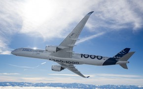 Wallpaper Airbus, Airbus, The A350, A350-1000