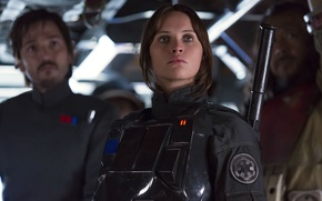 Picture cinema, Star Wars, girl, movie, film, rebel, Rogue One: A Star Wars Story, Rogue One