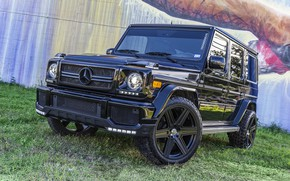 Picture Mercedes, AMG, Black, G63, Graphity, W463