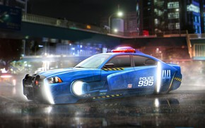 Picture car, cinema, Dodge Charger, movie, film, police car, Blade Runner, Blade Runner 2049