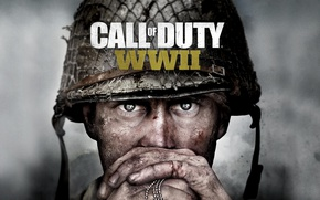 Wallpaper Call of Duty: WWII, Activision, Game